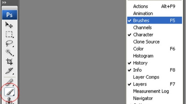 photpshop: how to install and use brushes. [with video tutorial]